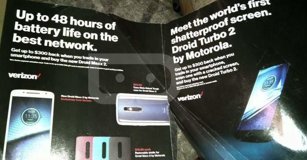 Motorola Droid Turbo 2 e Droid Maxx 2, ecco alcuni dettagli