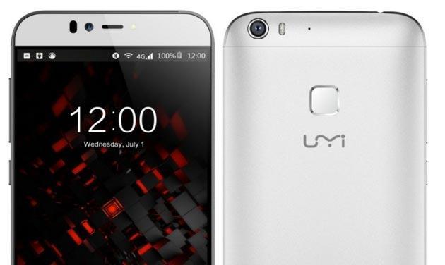 UMi Iron Pro, smartphone con scanner Iride da 170 euro