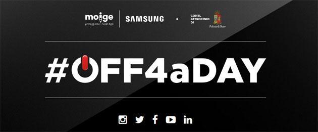 Off4aDay, campagna Samsung contro il Cyber-bullismo