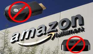 Amazon torna a vendere Google Chromecast e Apple TV