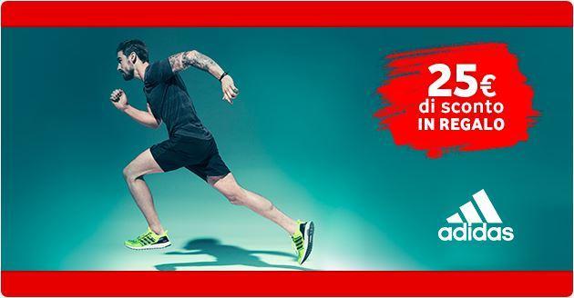 Ricarica Vodafone, a Ottobre buono da 25 euro da spendere su Adidas.it