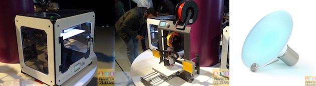 BQ presenta le stampanti 3D Witbox 2 ed Hephestos 2 e la luce intelligente Halu