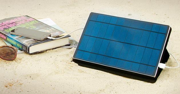 Solartab, la batteria Fotovoltaica per ricaricare Smartphone, Tablet e non solo