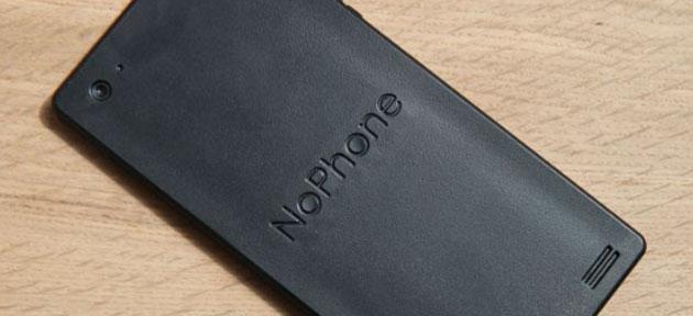 NoPhone ZERO, lo smartphone che fa assolutamente nulla