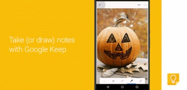 Google Keep archivia in Categorie automatiche le note