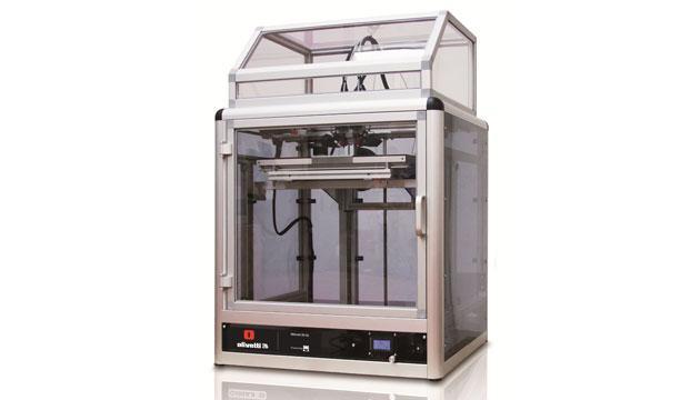 Olivetti presenta la sua prima stampante 3D, 3D-S2