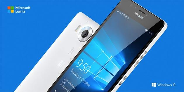 Microsoft Lumia 950 e 950 XL con Windows 10 in Italia da 599 euro