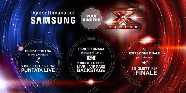 Samsung regala i Live di X Factor 2015