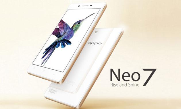 Oppo Neo 7 ufficiale, telefono Android Lollipop dual SIM
