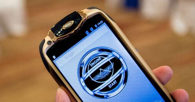 Aston Martin Racing 808, il telefono Android che costa piu' di 25 mila euro