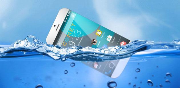 Comet, lo smartphone che galleggia in acqua
