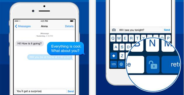 Kibo, app Lucchetto per nascondere chat e messaggi