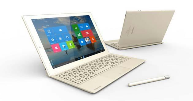 Toshiba presenta DynaPad, tablet ibrido 2in1 con Windows 10