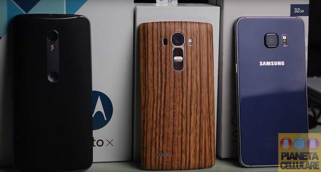 Samsung Galaxy S6 Edge Plus vs LG G4 vs Motorola Moto X Style, il nostro confronto