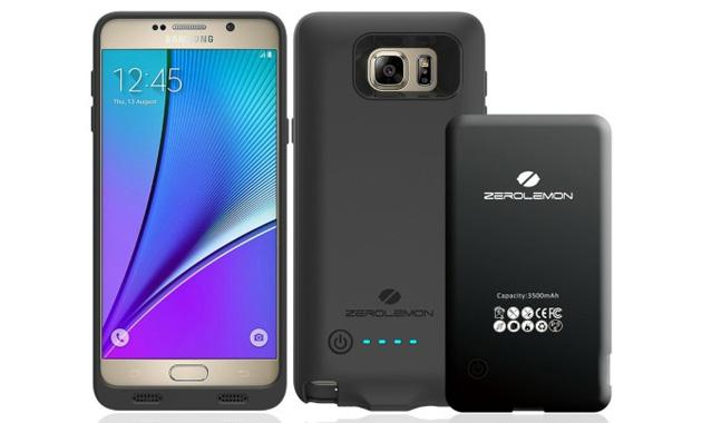 ZeroLemon lancia battery case da 3,500mAh per Galaxy S6 Edge+ e Note5
