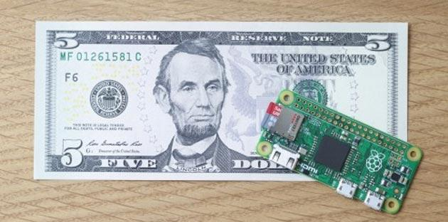 Pi Zero, mini computer Raspberry che costa 5 dollari