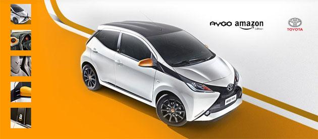 Amazon vende auto Toyota AYGO Amazon Edition