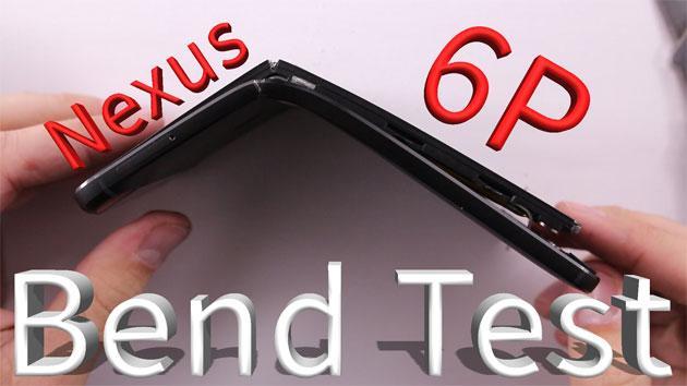 Nexus 6P molto fragile: metallo si piega, vetro si frantuma