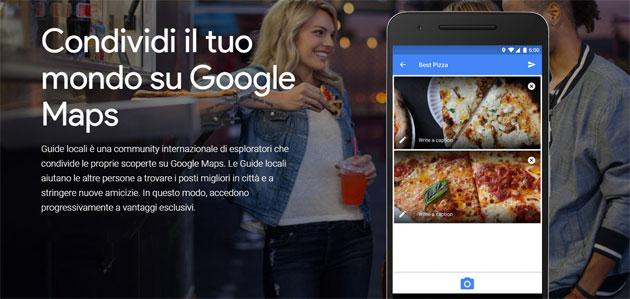 Guide Locali per Google Maps sfida Trip Advisor