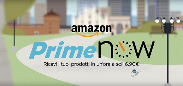 Amazon Prime Now disponibile su desktop via web
