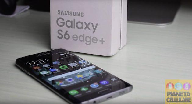 Recensione Samsung Galaxy S6 Edge Plus, Phablet Top di gamma con display curvo