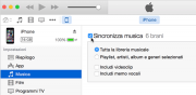 Foto Apple: come configurare sincronizzazione con iTunes di iPhone, iPad, iPod