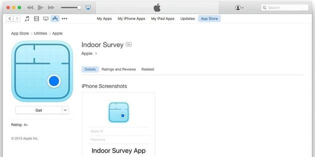 Indoor Survey, app per mappare edifici per Apple Maps