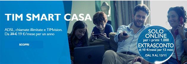 TIM SMART CASA, Internet e Chiamate tutto incluso: promozioni fino al 29 Aprile