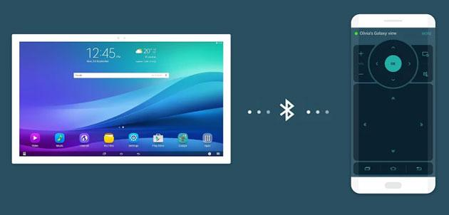 Foto Samsung Galaxy View Remote controlla il tablet dallo smartphone