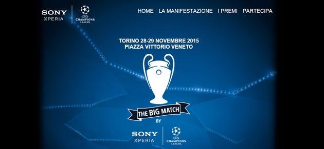 Sony Mobile, Sport e Tecnologia a Torino nel weekend 28-29 Novembre