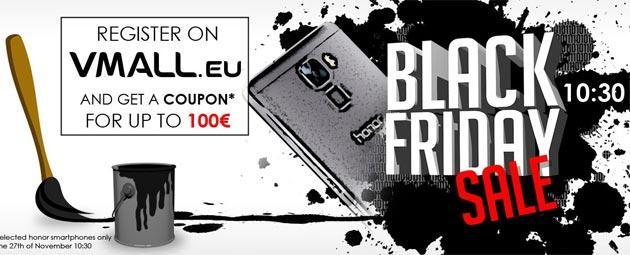 Honor, fino a 100 euro di sconto nel Black Friday 2015