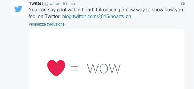 Foto Twitter pronta a togliere il cuore del Mi Piace