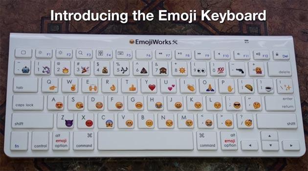 EmojiWorks, la tastiera con Emoji integrate nei tasti