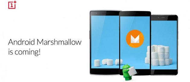 OnePlus One, 2 riceveranno Android 6 Marshmallow nel Q1 2016