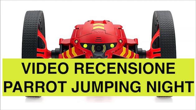 Recensione Parrot Jumping Night Minidrone per Android ed IOS
