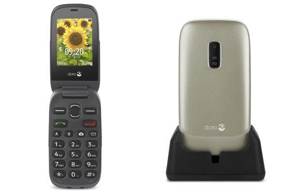 Doro 6030, telefono per anziani con tasto emergenza e grande display da 69 euro