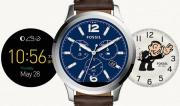 Foto Fossil Q Founder, smartwatch Android Wear con Intel inside