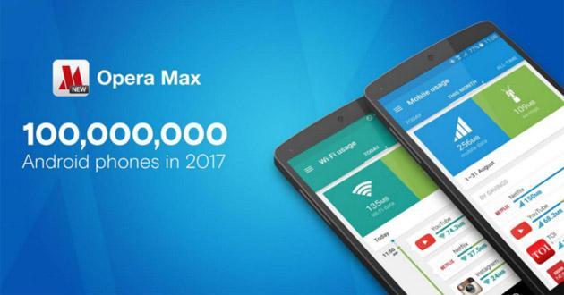 Opera Max pre-installato su smartphone di 14 marchi compresi Samsung, Xiaomi