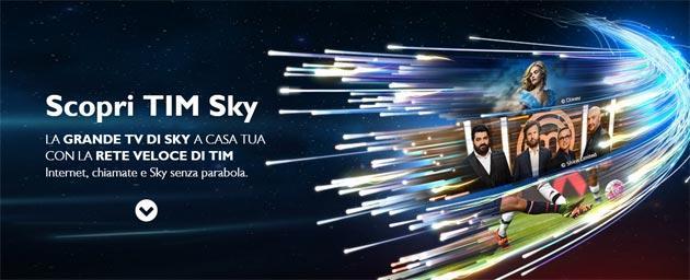 TIM: offerta Sky con TIM Smart Fibra, TIM Smart Casa, Tim Smart Mobile