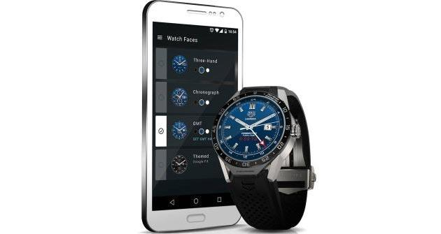 TAG Heuer Connected, smartwatch Android Wear con Intel inside