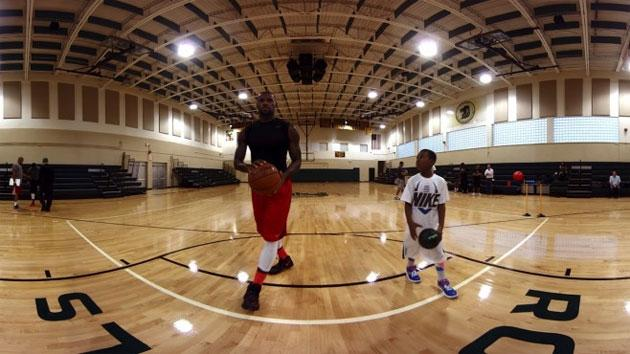 LeBron James in 12 minuti di video a 360 gradi per Gear VR