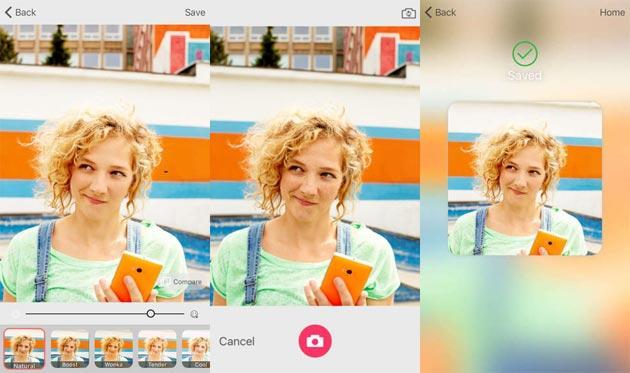 Microsoft Selfie, app per iOS per migliorare gli autoscatti