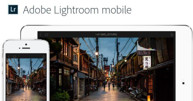 Adobe Lightroom per iOS, arriva il supporto per il 3D Touch e non solo