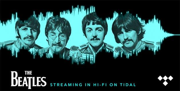 Beatles, tutti gli album ora in streaming, da Spotify a TIDAL in Hi-Fi