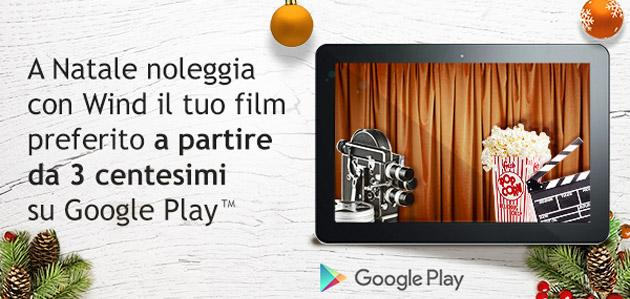Wind, film a noleggio su Google Play da 3 centesimi