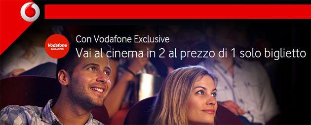 Vodafone, come richiedere il Buono Cinema