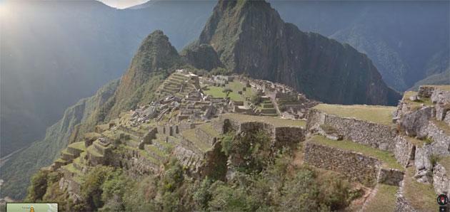 Google Street View tra le rovine di Machu Picchu