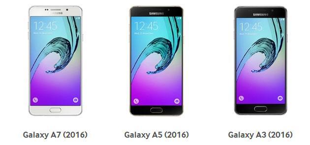 Samsung Galaxy A3 e A5 serie 2016 in Italia da 329 euro