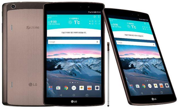 LG G Pad 2 8.3 LTE sfida Apple iPad Mini 4