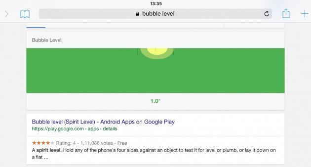 Google integra una Livella nel motore di ricerca